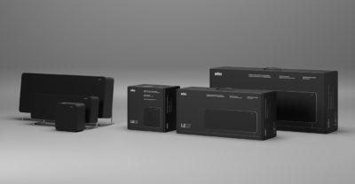 braun black packaging