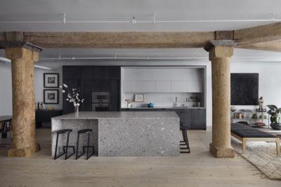 chelsea loft, interior overview